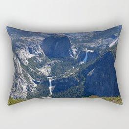 Vernal Falls And Nevada Falls Rectangular Pillow