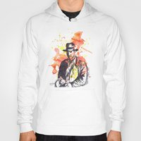 indiana Hoodies featuring Indiana Jones by idillard