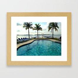 Bayside Florida Keys Hammock Framed Art Print