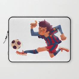 Lionel Messi, Barcelona Jersey Laptop Sleeve