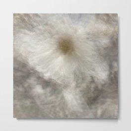 Magnolia Abstract  Metal Print
