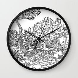 Snapshot in Collioure, France Wall Clock