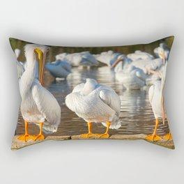Hear No Evil, See No Evil, Speak No Evil Rectangular Pillow