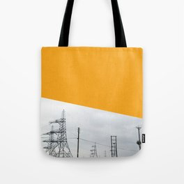 Orange Pylons Tote Bag