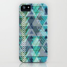 Triangle Tribe 3 iPhone Case