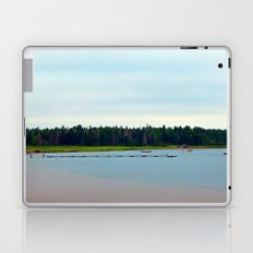 Boats and Dock in Shallow Cove Laptop & iPad Skin