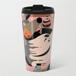 Modern Pizza Bird House Travel Mug