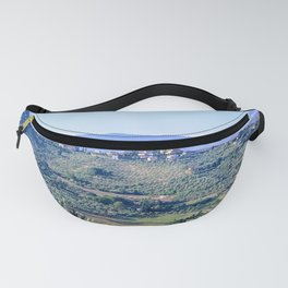 The hills of Tuscany Italy Fanny Pack