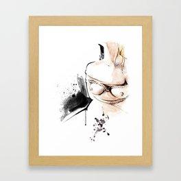 Shibari - Japanese BDSM Art Painting #14 Framed Art Print