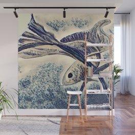 My Little Fish Wall Mural