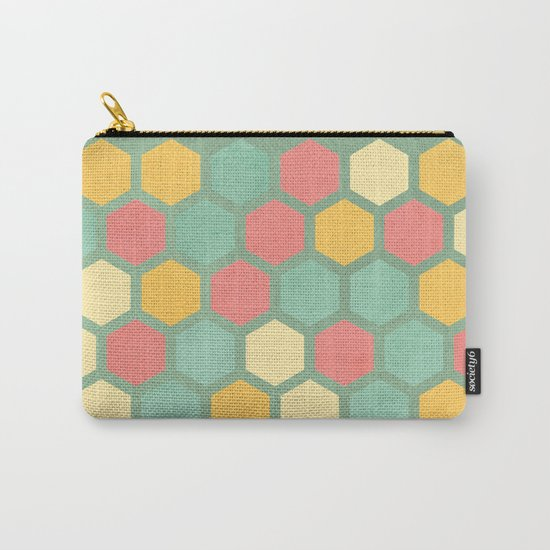 Summer bees, makes me feel fine Carry-All Pouch