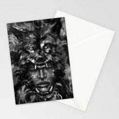 Empress Wolf Stationery Cards