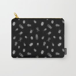 Beautiful Bugs Black Carry-All Pouch