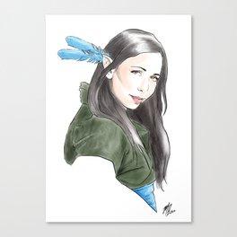Vex'ahlia Canvas Print