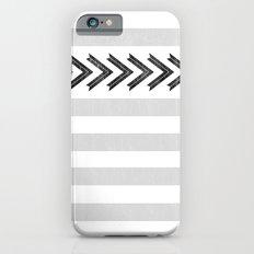 ARROW STRIPE {GRAY} Slim Case iPhone 6s