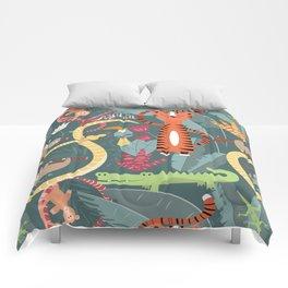 Rain forest animals 003 Comforters