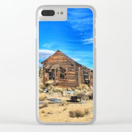 Old Mojave Shack Clear iPhone Case