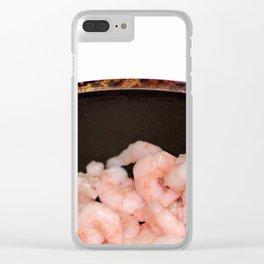 Shrimp Clear iPhone Case