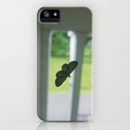 A Friend Drops By iPhone Case