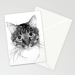 Jazz, drawing Stationery Cards