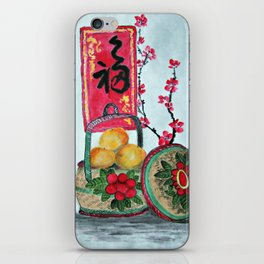 Basket full f Mandarin Oranges iPhone Skin