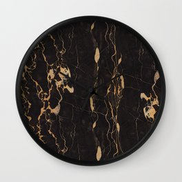 Real Marble Oro Wall Clock
