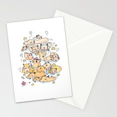 Wild family series - Capybara Stationery Cards