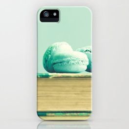 Mint Macaroons  iPhone Case