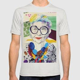 Iris Apfel Fanart T-shirt