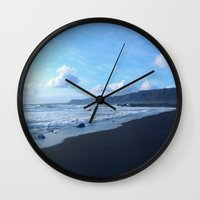 iceland Wall Clocks featuring Iceland by SvoSem