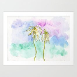 Little Pieces of Dust Art Print