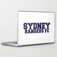 college Laptop & iPad Skins featuring College - Blue by Sydney Rangers FC