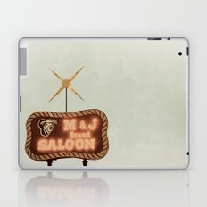 Retro Saloon Sign Laptop & iPad Skin