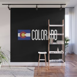 Colorado: Coloradan Flag & Colorado Wall Mural