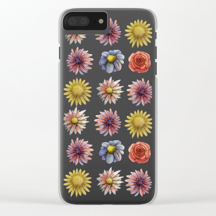 flowers! Clear iPhone Case