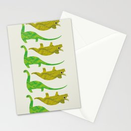 Paper Dino Stationery Cards