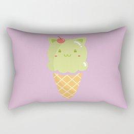 Pistachio Ice-cream Rectangular Pillow