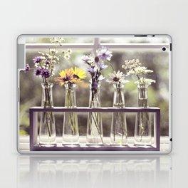 Windowsill Flowers Laptop & iPad Skin