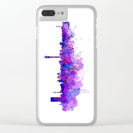 Johannesburg Skyline Clear iPhone Case