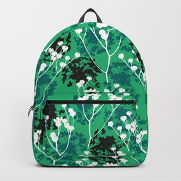 Seeds on green Backpack