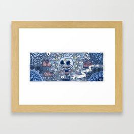 Wombs in the Woods Framed Art Print