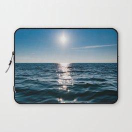 Sea Blue Sky sun Laptop Sleeve