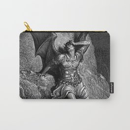 Gustave Dore - Paradise Lost Satan Profile Carry-All Pouch