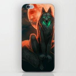 Werewolf (#Drawlloween2016 Series) iPhone Skin