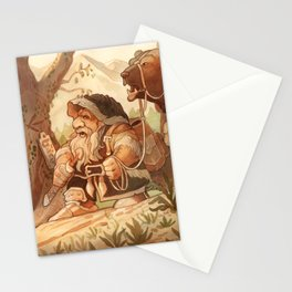 Dwarfen merchant Stationery Cards