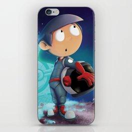 Space Kid iPhone Skin