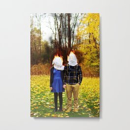 i miss you terribly Metal Print