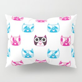 We are watching you. MEOW x 5 Pillow Sham