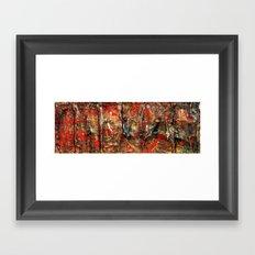 Sabotage Framed Art Print