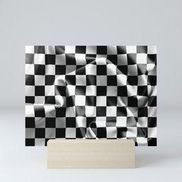 Chequered Flag Mini Art Print